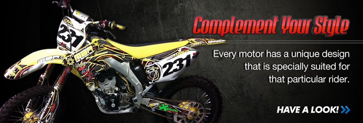 Complement Your Style: Every motor has a unique design specially suited for a particular rider